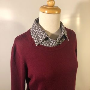 Investments Sweaters - Investments   Collared Sweater